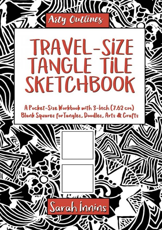 Travel-Size Tangle Tile Sketchbook