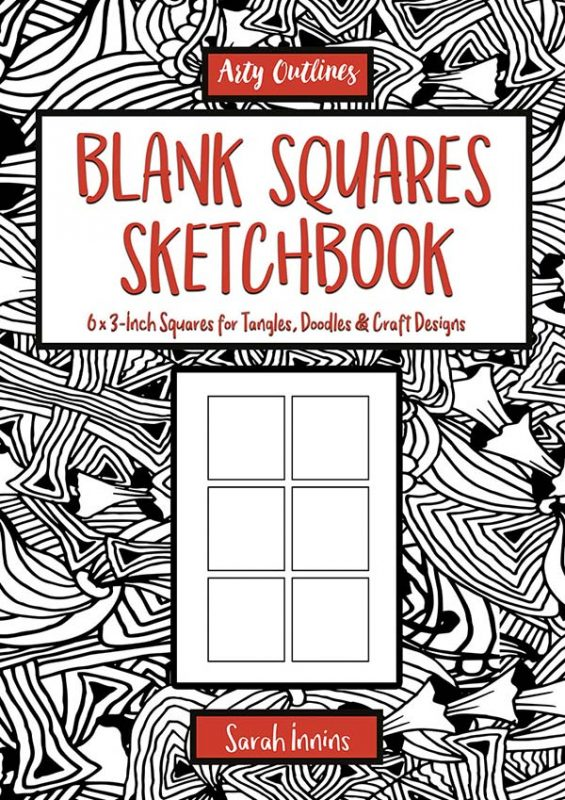 Blank Squares Sketchbook