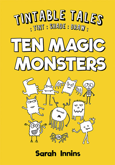 Tintable Tales: Ten Magic Monsters