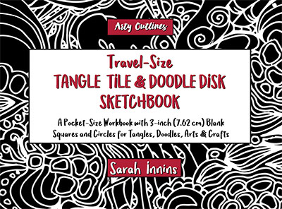 Travel-Size Tangle Tile & Doodle Disk Sketchbook