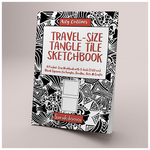 Travel-Size Tangle Tile Sketchbook