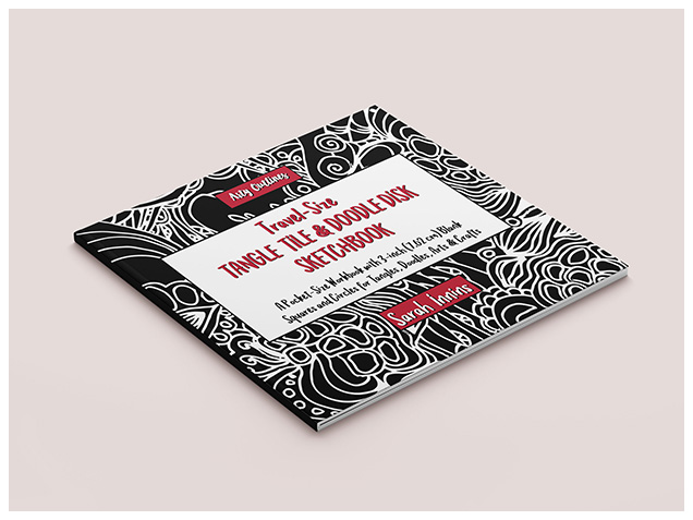 Travel-Size Tangle Tile & Doodle Disk Sketchbook